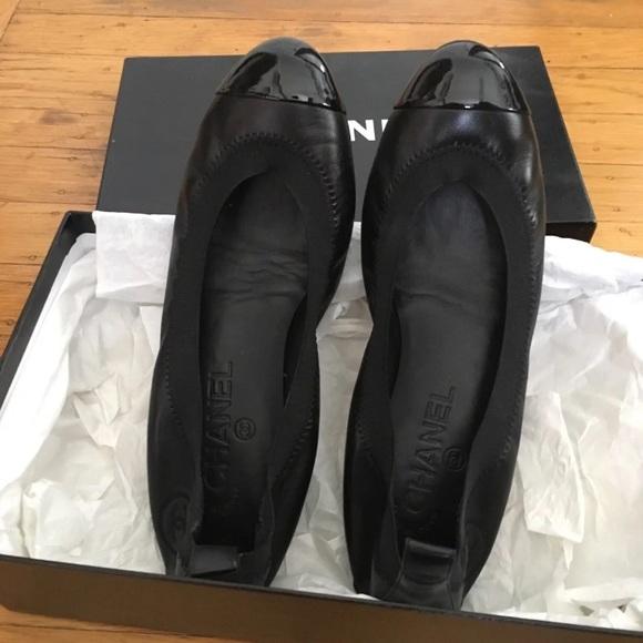 CHANEL Shoes - Chanel Ballerines Flats Noir Classic Black Ballet 73176be3a79f7